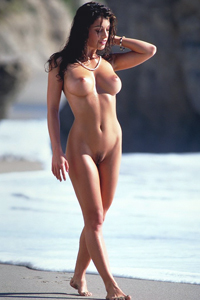 Isabella On The Beach